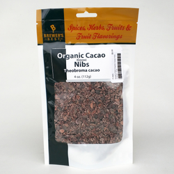 Brewer's Best Organic Cacao Nibs (Cocoa) - 4 oz.