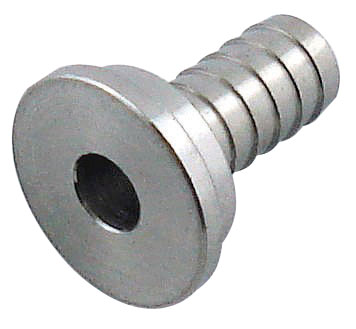 Tailpiece For Draft Shank or Coupler - Stainless Steel 1/2""