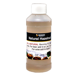Flavoring, Natural - Hazelnut - 4 oz