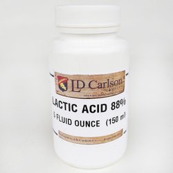 Lactic Acid 88% - 5 oz