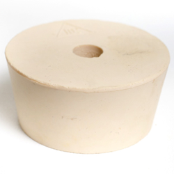 #10 1/2 Drilled Rubber Stopper
