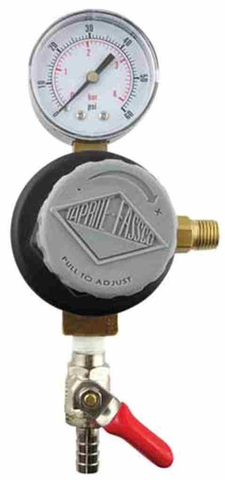 "Add A Regulator - Taprite CO2 Regulator with 5/16"" Barbed Shutoff (1-60psi Gauge)"