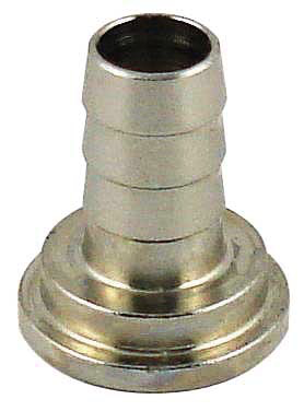 Tailpiece For Draft Shank or Coupler - Polished Brass 3/8""