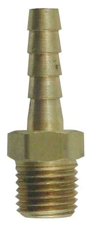 "1/4"" Barb to 1/4"" MPT, Brass"