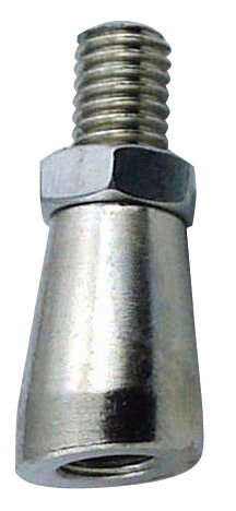 Chrome Plated Bonnet Angler for Draft Faucet Tap Handle