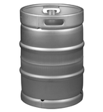 "1/2 Barrel Keg - Stainless Steel American Sankey with Micro Matic, ""D"" Extractor Valve"