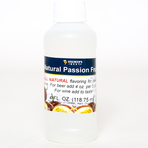 Flavoring, Natural - Passion Fruit - 4 oz