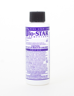 Five Star - IO Star Sanitizer - 4 oz