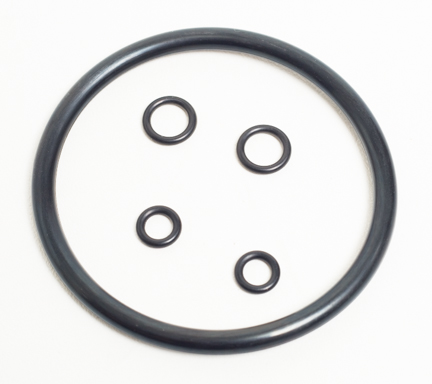 Ball Lock O-Ring Kit - Includes One Lid, 2 Dip Tube And 2 Post O-Rings