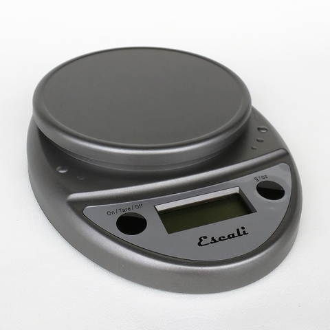 Escali Primo Digital Scale - 11 LB Capacity