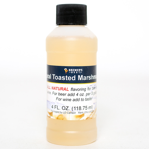 Flavoring, Natural - Toasted Marshmellow - 4 oz