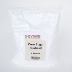 Corn Sugar (Dextrose) - 4 LB Bag