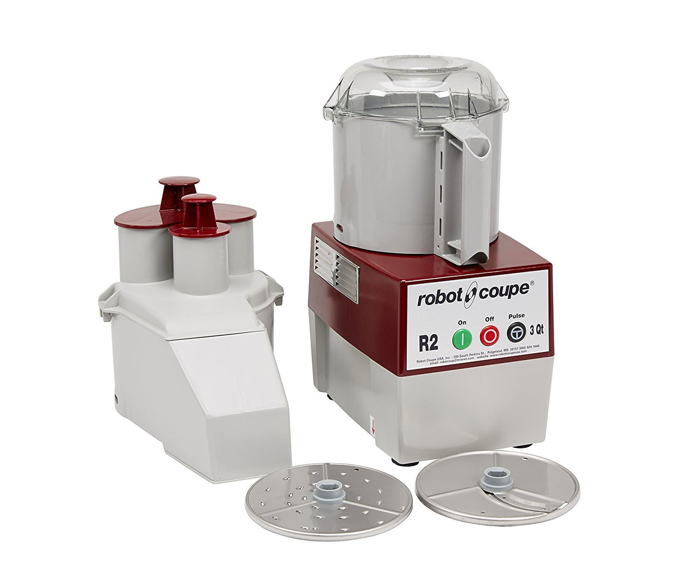 ... Robot Coupe R2N Continuous Feed Combination Food Processor With 3 Quart  Bowl   120V   MY