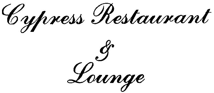 Cypress Restaurant & Lounge