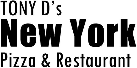 Tony D's New York Pizza & Restaurant