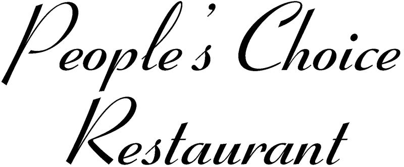 People's Choice Restaurant