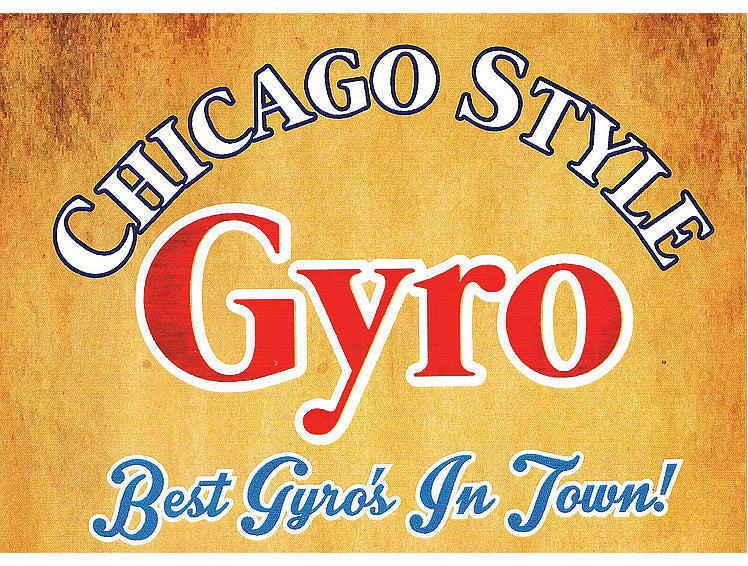 Chicago Style Gyros #5