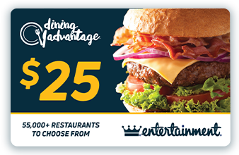 $25 Dining Advantage Card