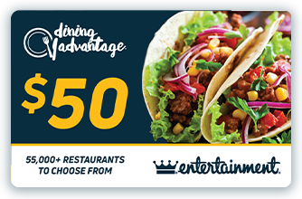 $50 Dining Advantage Card