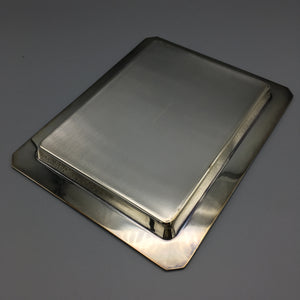 Tiffany & Co. Sterling Silver Tray in a 'Skyscraper' Art Deco Revival Design