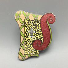 Jim Heimann Cloisonne Enamel Brooch 'Delray' for ACME Los Angeles