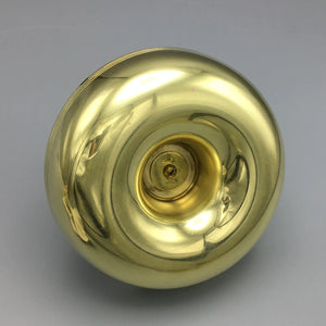 Nut Bowl with Handle in Brass by Tommi Parzinger for Dorlyn Silversmiths