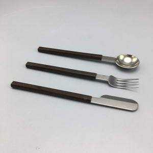 Raymond Loewy c. 1970s Modern Flatware for Air France Concord (4 sets)