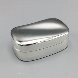 Tiffany & Co. Sterling Silver 'Wave' Box by Elsa Peretti