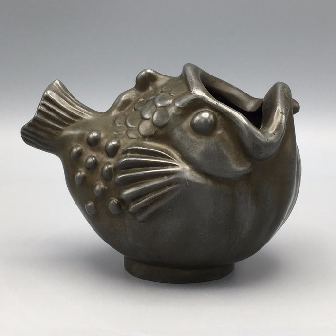 Just Andersen Art Deco Figural Fish Vessel