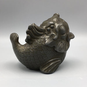 Just Andersen Neoclassical Art Deco Figural Fish Vessel