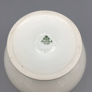 Rosenthal c. 1932 Hand Painted Art Deco Footed Porcelain Coupe Bowl
