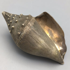 Guillermo Nava Sterling Silver Conch Sea Shell Box