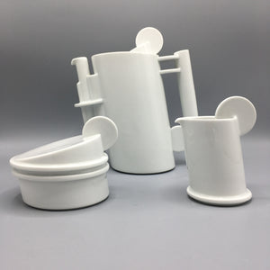 Marcello Morandini for Rosenthal Studio Line Prototype 'Circolo Bianca' Coffee Set