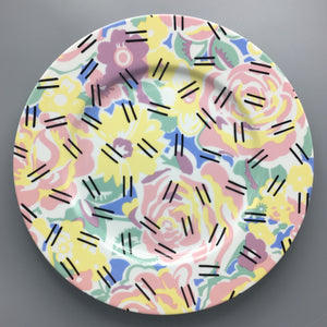Robert Venturi for Swid Powell c. 1984 Postmodern 'Grandmother' Porcelain Buffet Plate
