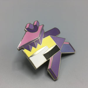 Peter Shire for Acme Enamel Brooch