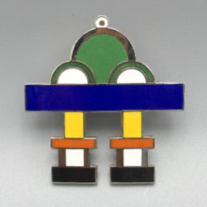 Ettore Sottsass for Acme Enamel Brooch