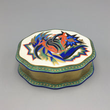 Kurt Wendler c. 1925 'Indra' Art Deco Porcelain Box for Rosenthal