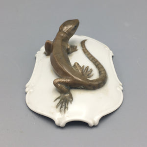 Karl Himmelstoss circa 1945 Reptile Model for Rosenthal