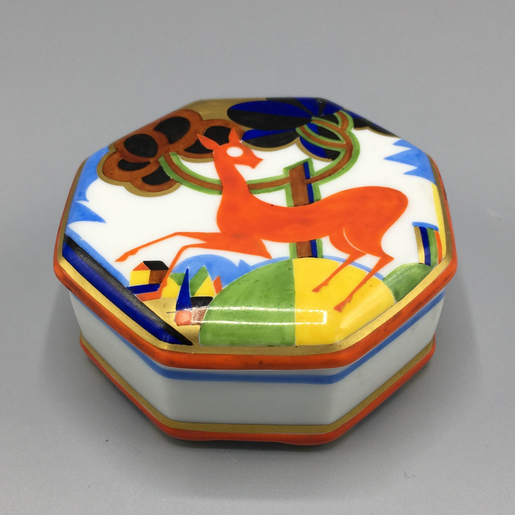Hans Küster for Rosenthal Porcelain Art Deco Box
