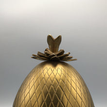 Mottahedeh Brass Pineapple Box