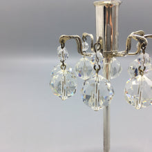 H. H. Rath for J&L Lobmeyr c. 1963 Silvered Brass and Faceted Swarovski Crystal Candlestick