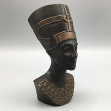 Vintage 1950's Bronze Raymor Era Nefertiti Bust Made in Austria
