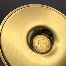 Brass Hurricane Candle Holder by Tommi Parzinger for Dorlyn Silversmiths