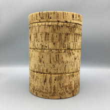 American Primitive Oversized Solid Natural Cork Canister Humidor Box