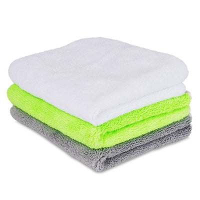 "Liquid X Premium Multi-Purpose Microfiber Detailing Towels - 16"" x 16"""