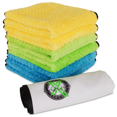 Liquid X Premium 7 Piece Microfiber Bundle