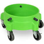 "Liquid X Bucket Dolly Lime Green - 3"" Casters"