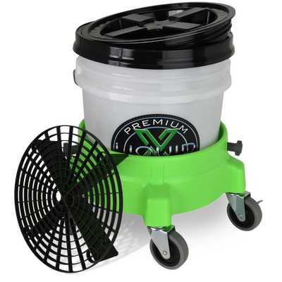 Liquid X Complete Bucket Kit with Dolly