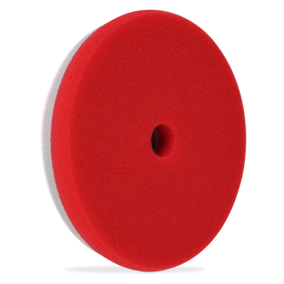 "Liquid X Refine HDO Fine Finishing/Polishing Pad 6.5"" - Red"