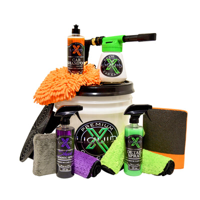 Liquid X Wash & Protect Foam Gun Bucket Kit
